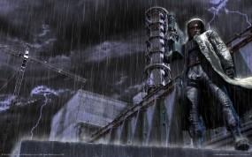 Обои Сталкер: Дождь, Сталкер, Stalker, АЭС, S.T.A.L.K.E.R