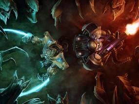 Star Сraft 2 бойцы