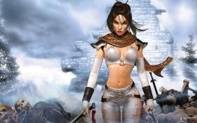 Обои Untold Legends Dark Kingdom: Девушка-воин, Девушки из игр