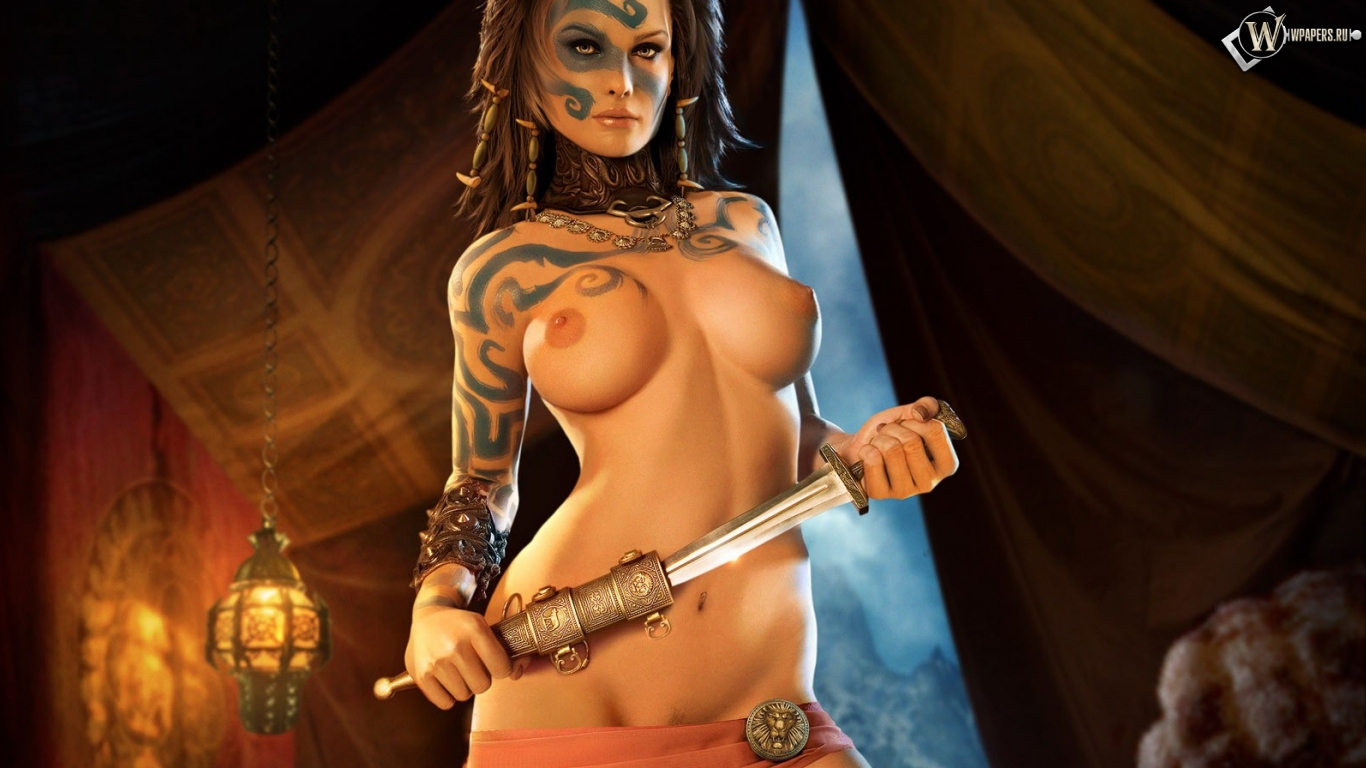 Naked animation girls warrior fucks movie