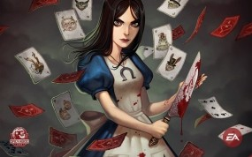 Обои Alice 2: Алиса, Карты, Алиса в Стране чудес, Alice, Другие игры