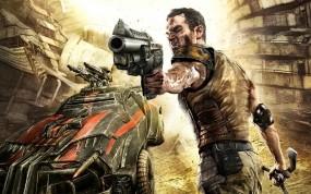 Обои Rage: Пистолет, Мужик, Rage, Другие игры