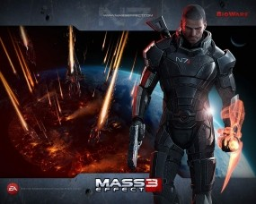 Обои Mass effect 3: Game, Mass Effect, Другие игры
