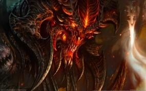 Обои Diablo III: Монстр, Diablo, Дьявол, Чудище, Другие игры