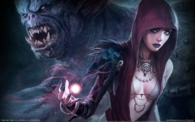 Обои Dragon Age origins: Огр, Маг, Dragon Age, Другие игры