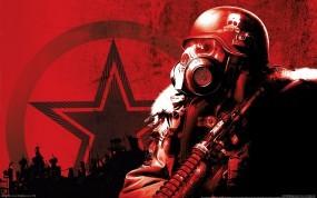 Обои Метро 2033: Солдат, Противогаз, Метро 2033, Каска, Другие игры