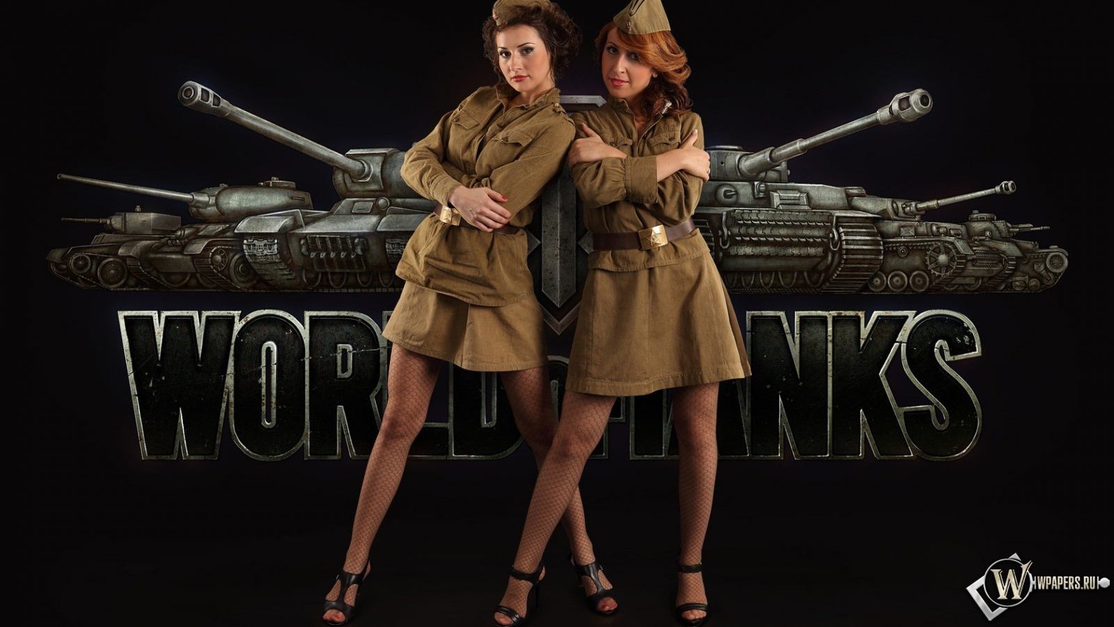 Обои world of tank девушки world of tank форма