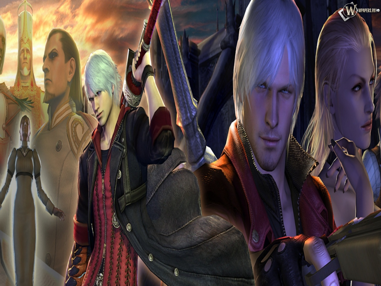 Картинки Devil May Cry 4 На Рабочий Стол Во Весь Экран