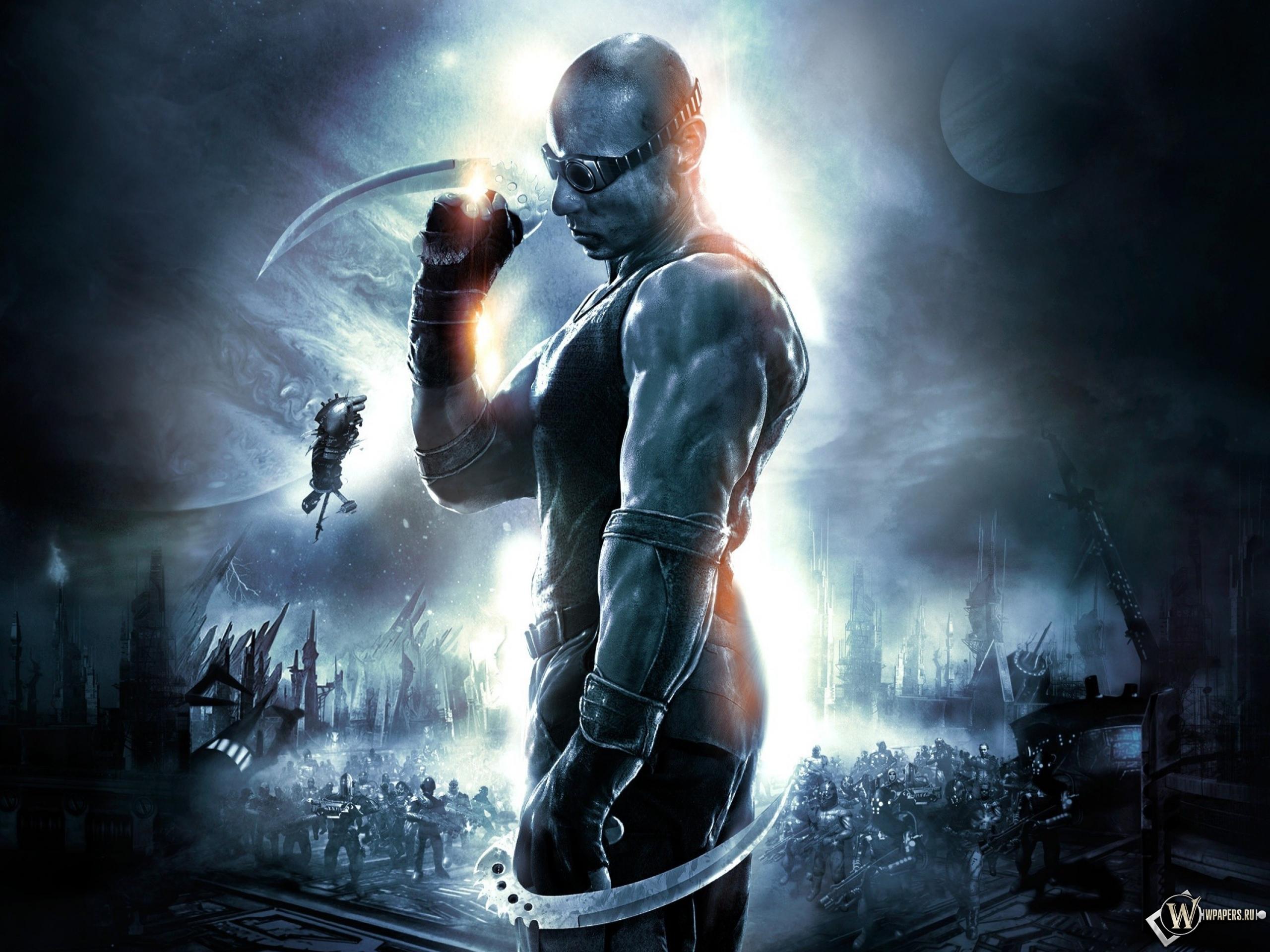 Злобный но благородный убийца The Chronicles of Riddick.