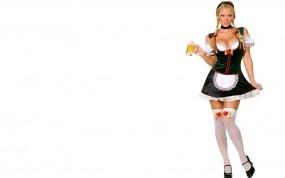 Обои Девушка из Баварии: Девушка, Пиво, Бавария, Девушки
