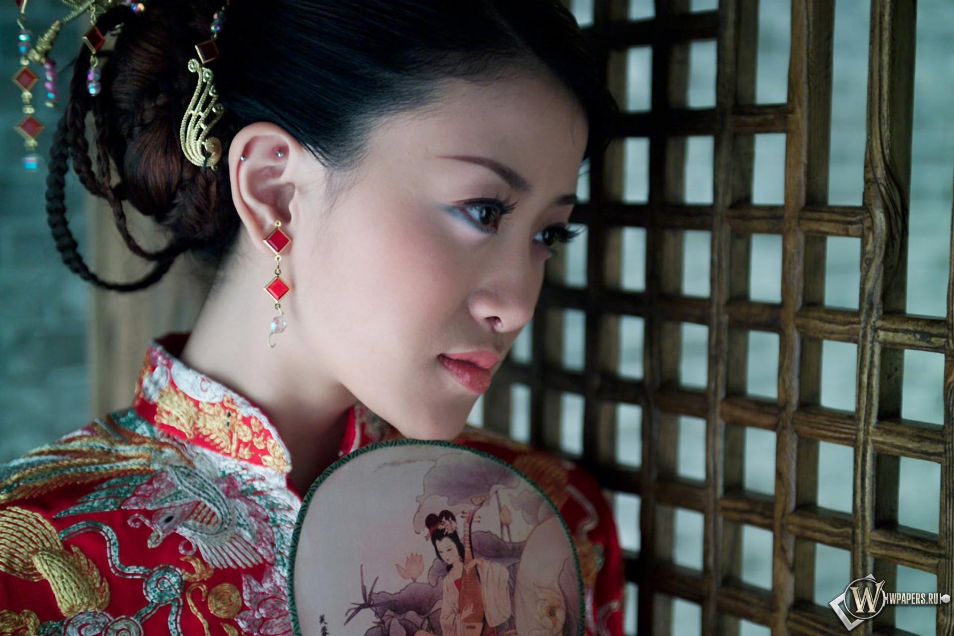Смотреть онлайн с китаянкой стоя в одежде 16 фотография
