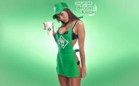 Обои Brooke Knight: Девушка, Кофе, Brooke Knight, Девушки