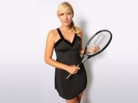 Обои Мария Шарапова: Девушка, Спорт, Теннис, Девушки