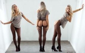Обои Devin Justine: Девушка, Блондинка, Девушки