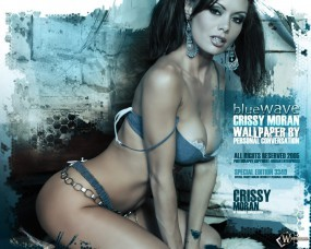Обои Crissy Moran: Цепи, Объемная грудь, Crissy Moran, Крисси Моран, Девушки