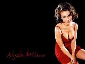 Обои Alyssa Milano: Актриса, Зачарованные, Фиби, Phoebe, Сериал, Alyssa Milano, Девушки