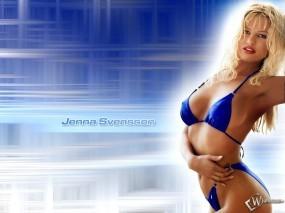 Обои Jenna Svensson: Секс-бомба, Jenna Svensson, Девушки