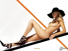 Обои Heidi Klum: Бандитка, Нагая леди, Девушки