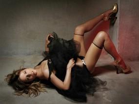 Обои Kate Beckinsale: Платье, Чулки, Kate Beckinsale, Девушки