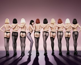 Обои Девушки в чулках и колготках: Чулки, Попы, Колготки, Каблуки, Шпильки, Девушки
