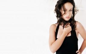Обои Olivia Wilde: Платье, Взгляд, Olivia Wilde, Оливия Уайлд, Девушки