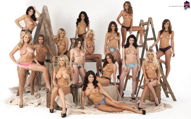 Девушки на стройке