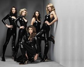 Обои Профессия Лара Крофт: Кожа, Девушки, Латекс, Девушки