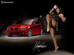 Обои Gina Сarano: Спортсменка, Авто с девушками, Gina Сarano, Девушки