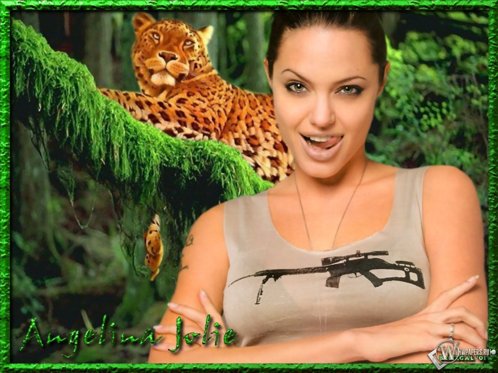 Анджелина Джоли 1024x768