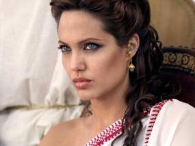 Обои Angelina Jolie: Взгляд, Angelina Jolie, Анджелина Джоли, Angelina Jolie