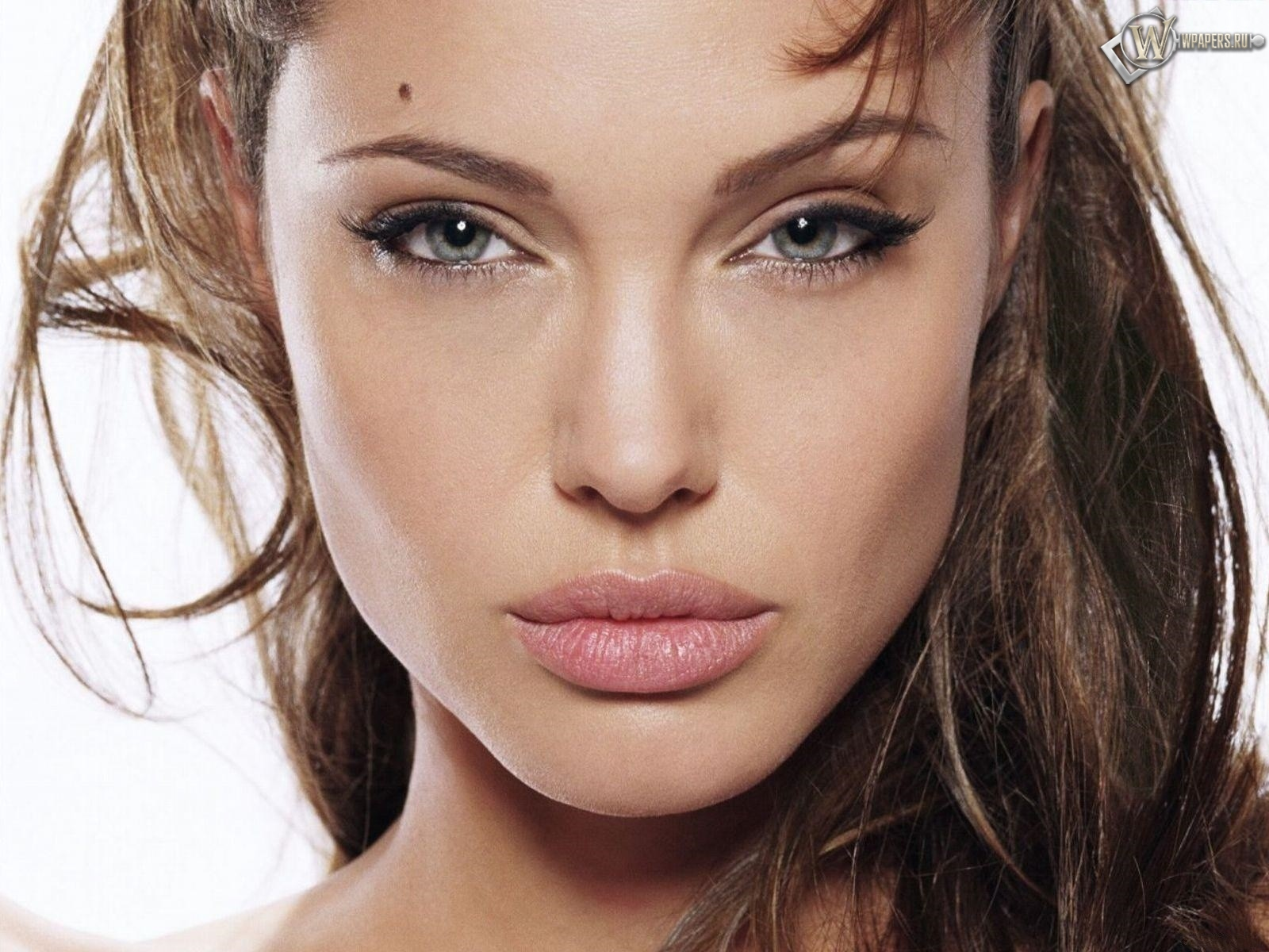 Взгляд Анжелины Джоли 1600x1200