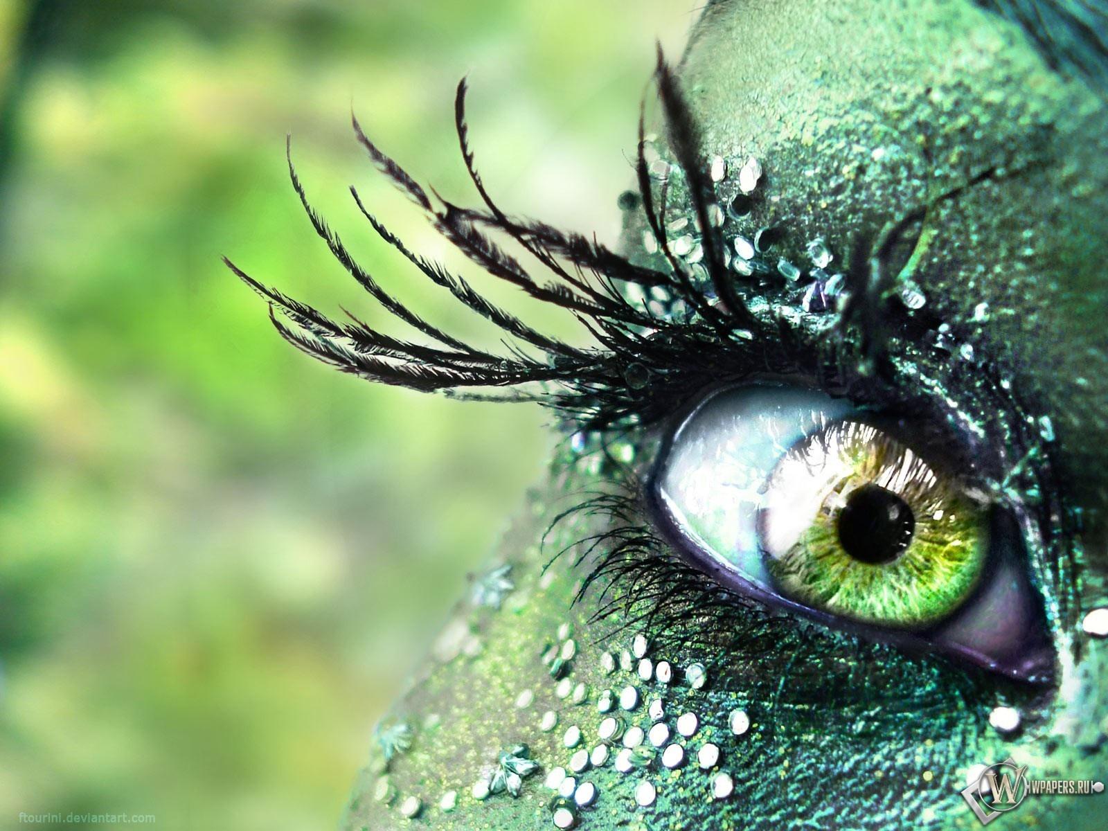 Прекрасный глаз 1600x1200