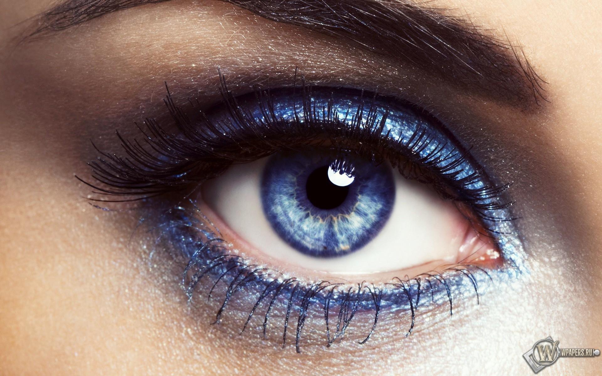 Фиолетовый глаз 1920x1200