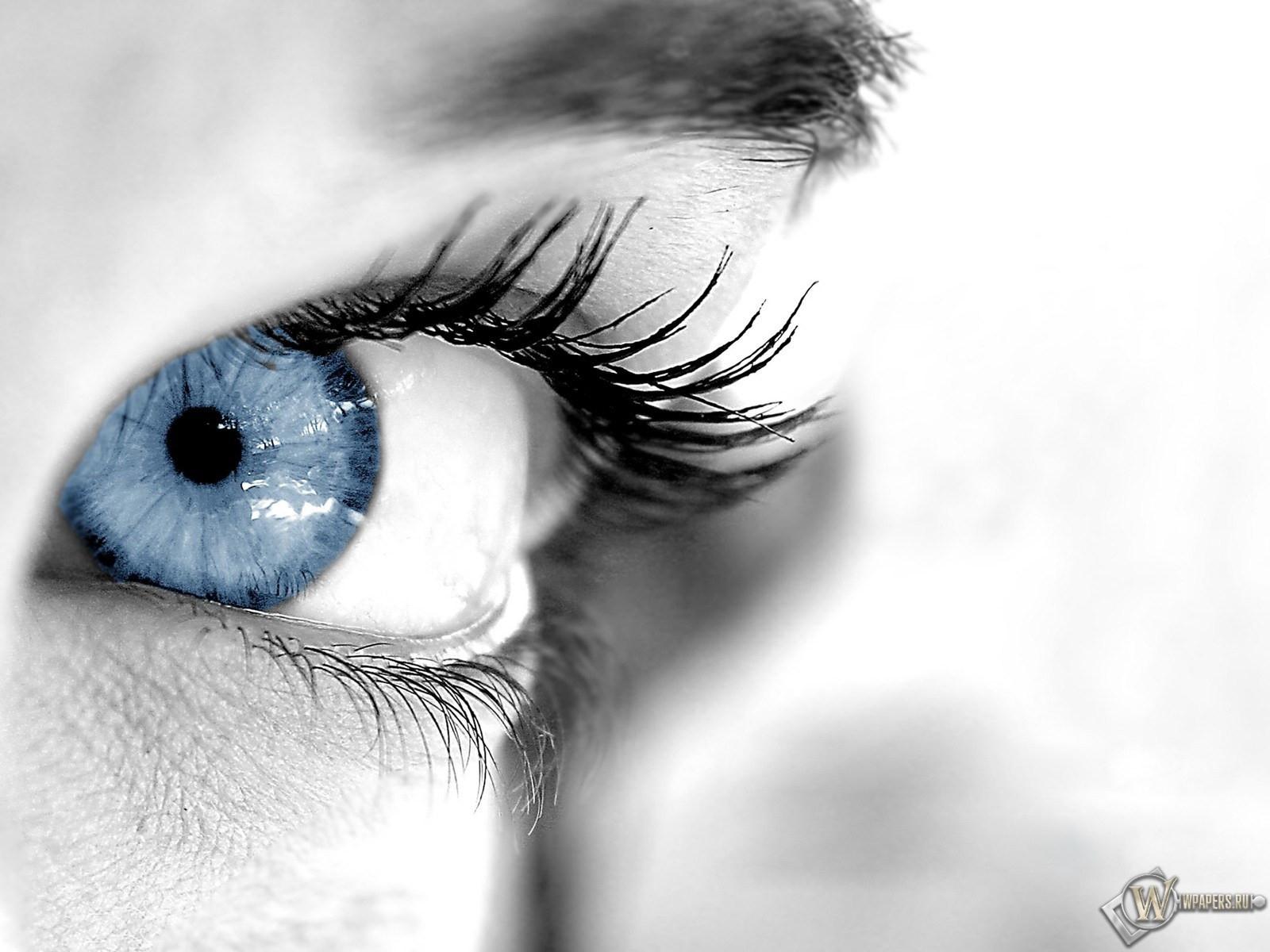 Голуббой глаз 1600x1200