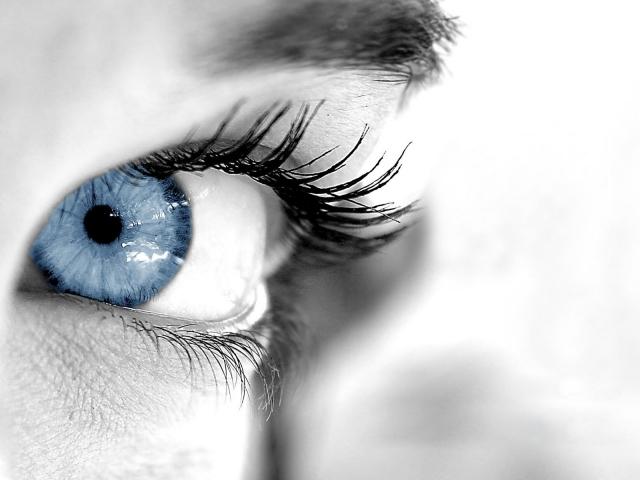 Голуббой глаз