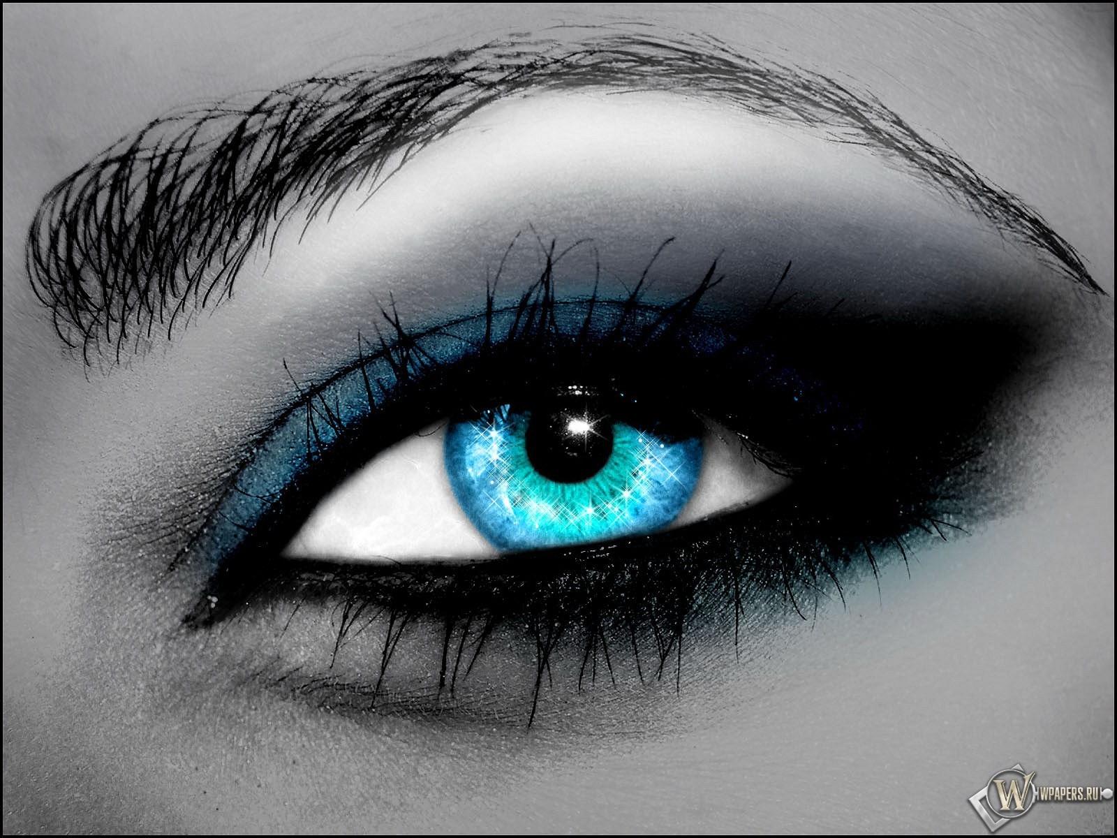 Голубой глаз 1600x1200