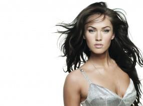 Обои Megan Fox: Взгляд, Megan Fox, Волосы, Megan Fox