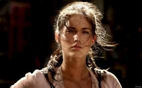 Обои Усталая Меган Фокс: Взгляд, Megan Fox, Меган Фокс, Усталость, Megan Fox