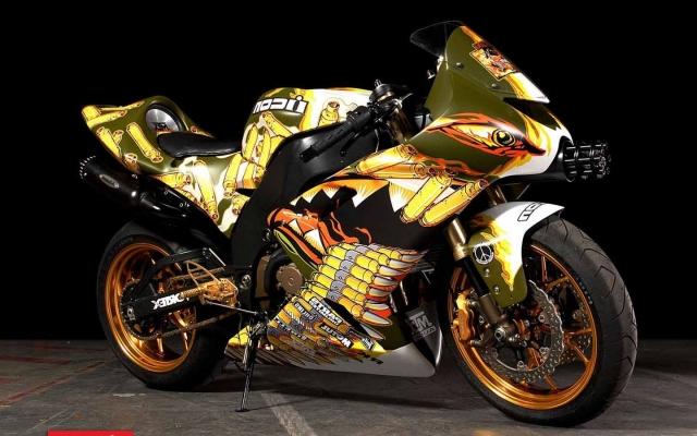 Боевой мотоцикл
