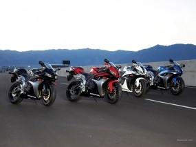 Обои Мотоциклы в ряд: Мотоциклы, Honda, Мотоциклы