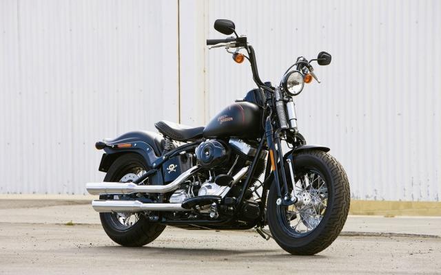 Чёрный Harley-Davidson Cross-Bones