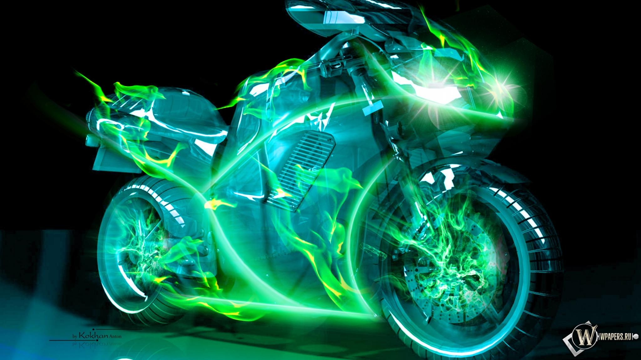 Suzuki в неоновой подсветке  № 3430396 бесплатно