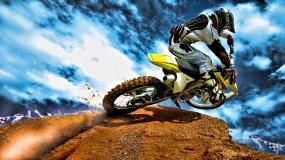 Обои Suzuki 250: Мотоцикл, Спорт, Гонщик, Suzuki