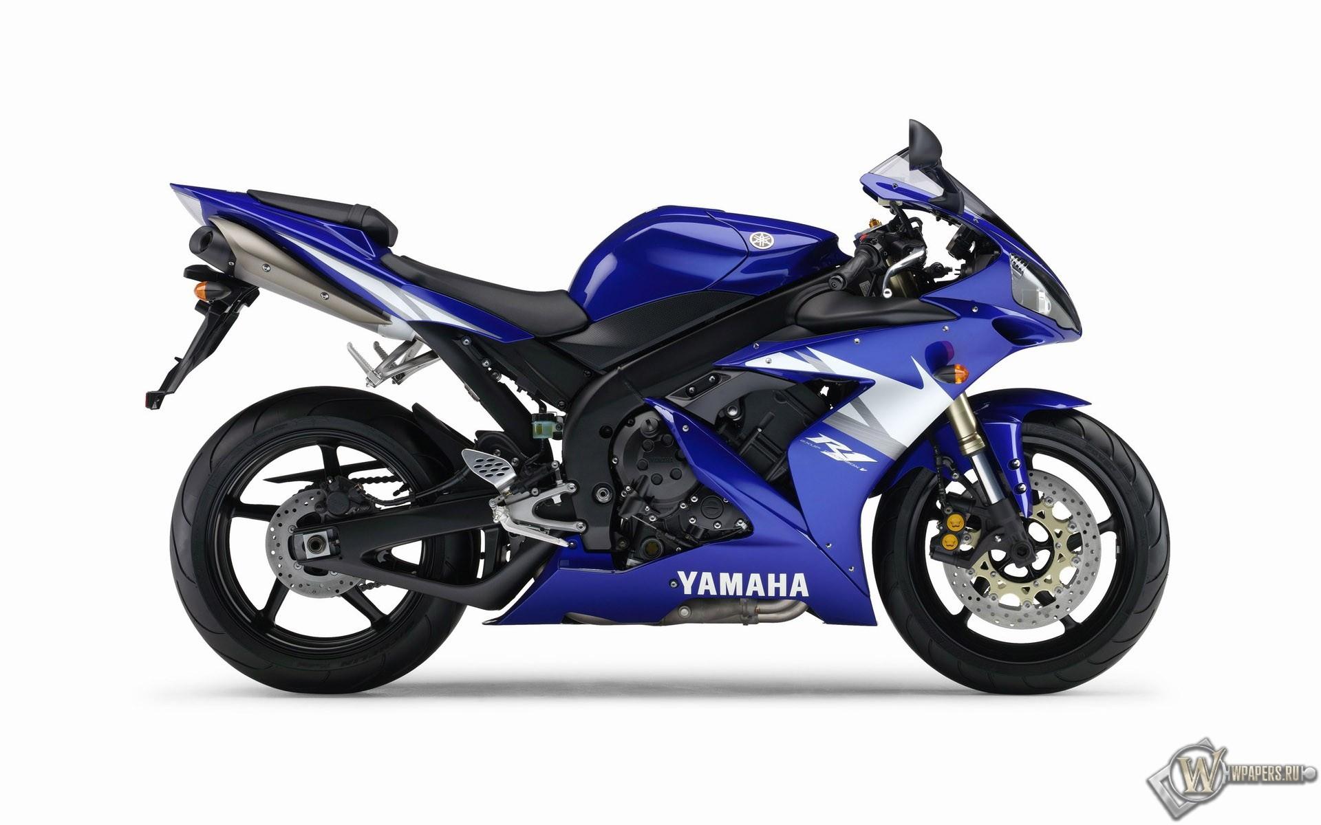 Синий спортивный Yamaha 1920x1200