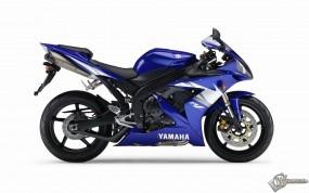 Обои Синий спортивный Yamaha: , Yamaha