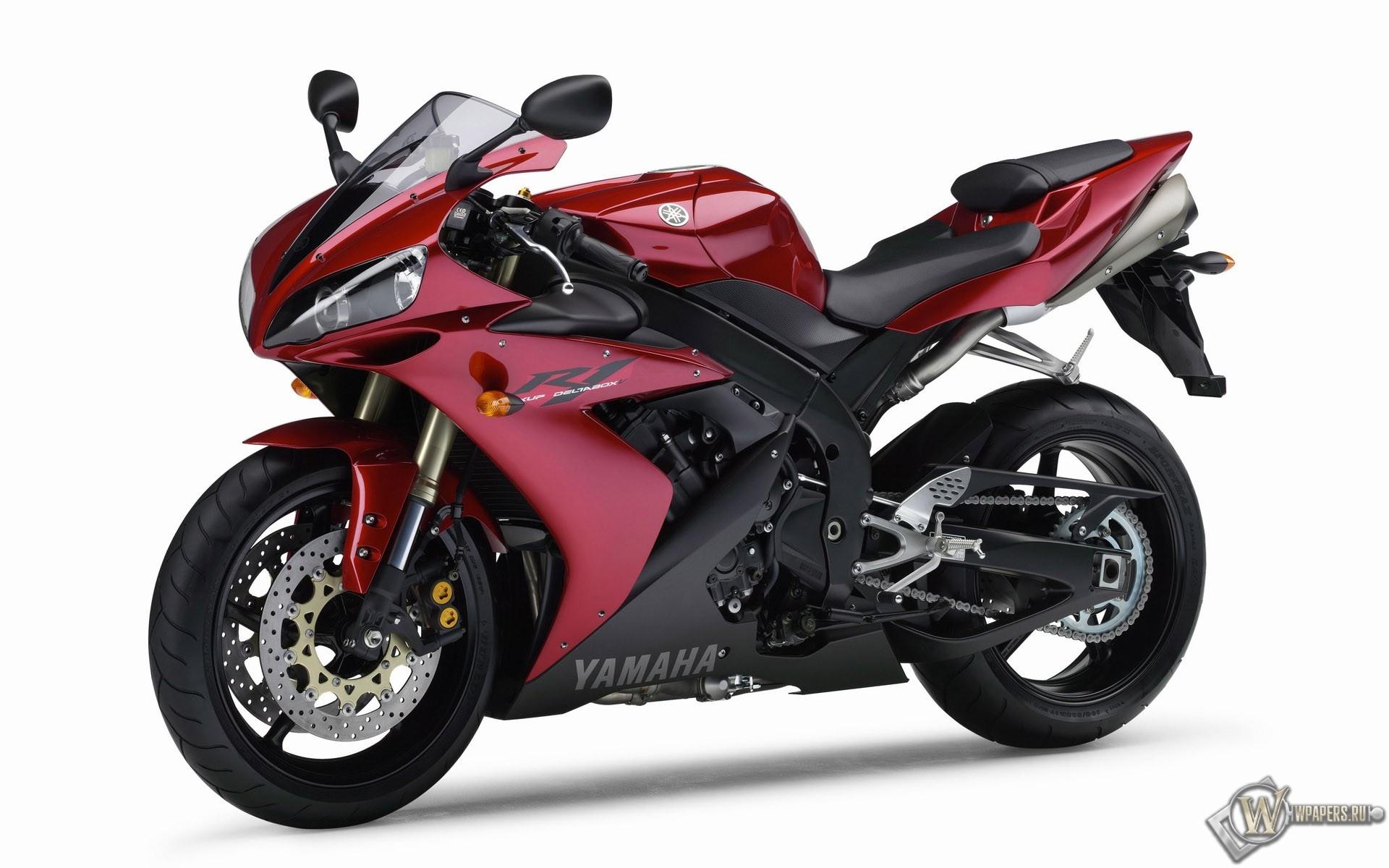 Красный Yamaha 1920x1200
