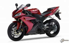 Обои Красный Yamaha: , Yamaha