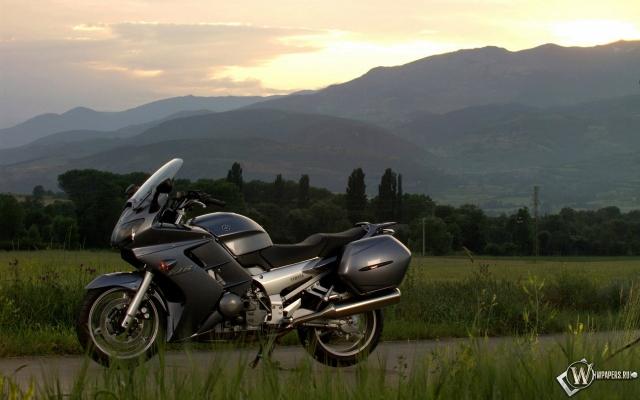 Yamaha в поле