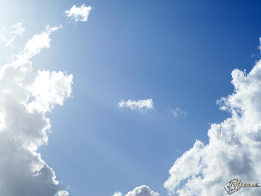 Фото небо солнечное
