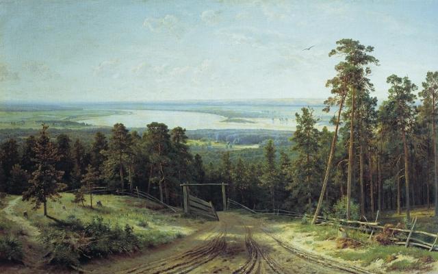 Кама близ Елабуги Шишкин